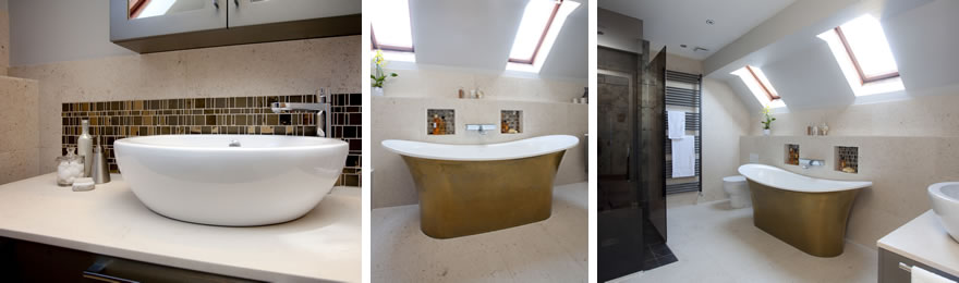 Photos of ensuite bathroom by InStil Design