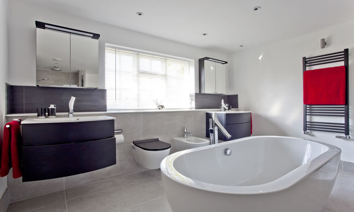 Photo gallery of bathrooms designed by martina landhed and for Bathroom design oxfordshire