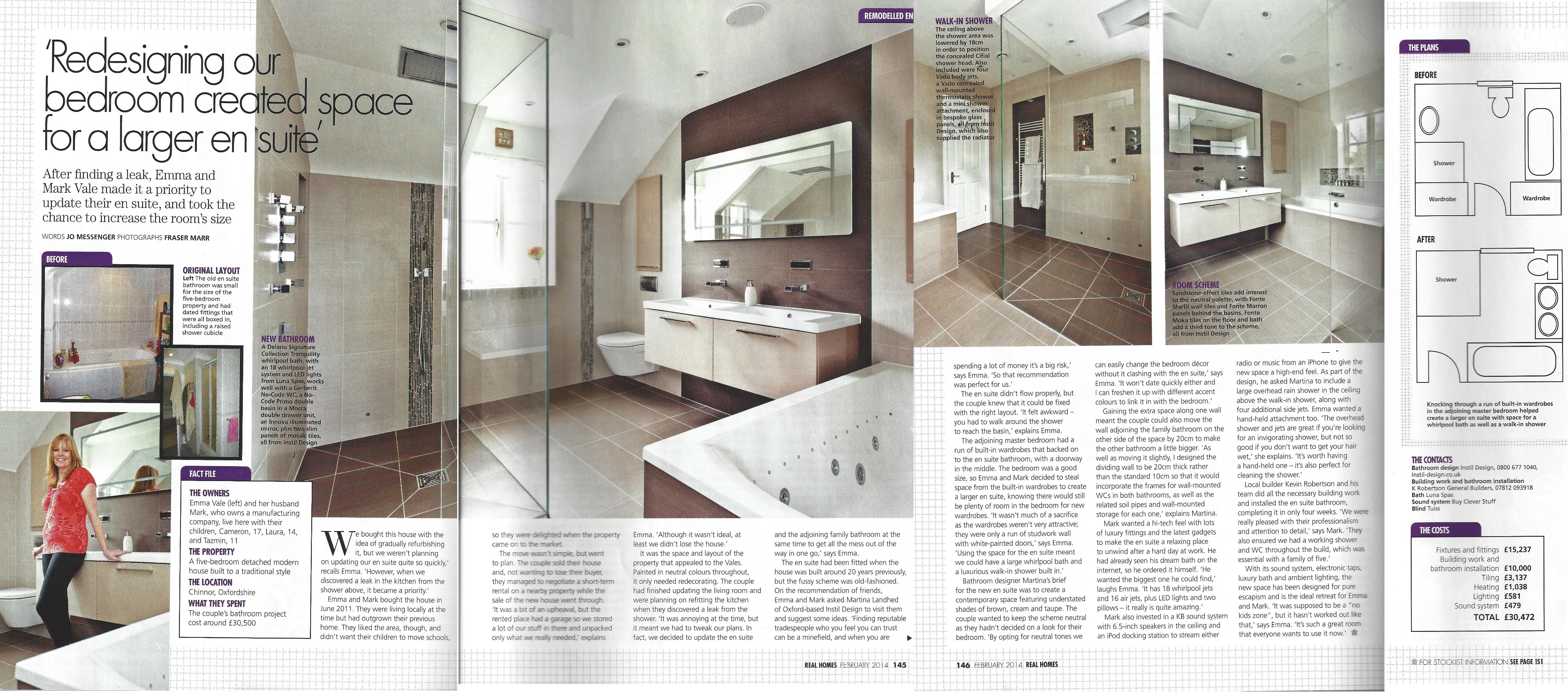 News Bathroom Design Oxford Abingdon Newbury Henley On Thames Instil Design